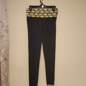 Pink Yoga by Victoria Secret Pants Small